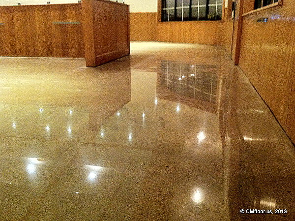 Polishing Concrete Floors And Provide Industrial Flooring